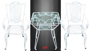 Bộ ghế bàn cao HP-19EE
