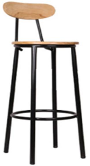 Ghế bar sắt gỗ HP-909T