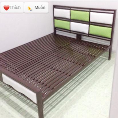 Giường sắt cao cấp 1m6 HP-308