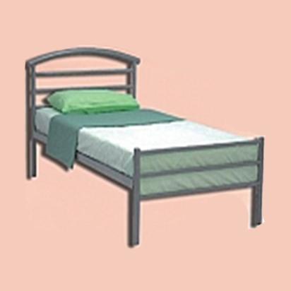 Giường sắt cao cấp 1m HP-305