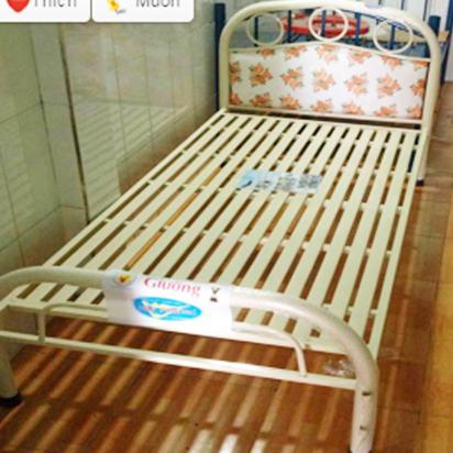 Giường sắt cao cấp 1m2 HP-304