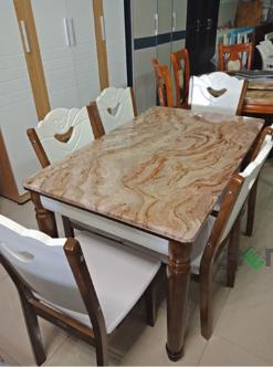 Bộ bàn mặt đá HP-12KK