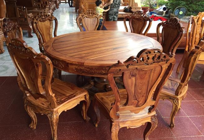 Bộ ghế gỗ cao cấp HP-906J