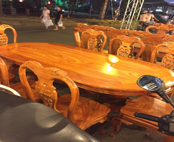 Bộ ghế gỗ Đỏ HP-911J