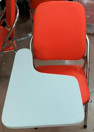 Ghế inox, bàn gỗ mfc HP-35U
