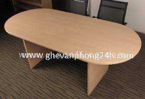 Bàn phòng họp Oval HP-BH076