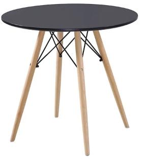 Bàn cafe Ø 60 gỗ HP-601