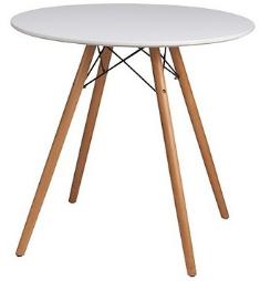 Bàn cafe Ø 80 gỗ HP-801