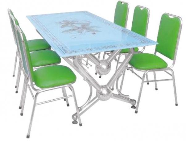 Bộ ghế nhà hàng inox HP-57U