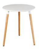 Bàn cafe Ø 60 gỗ HP-701
