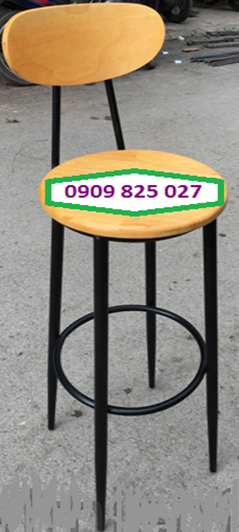 Ghế bar gỗ HP-012G