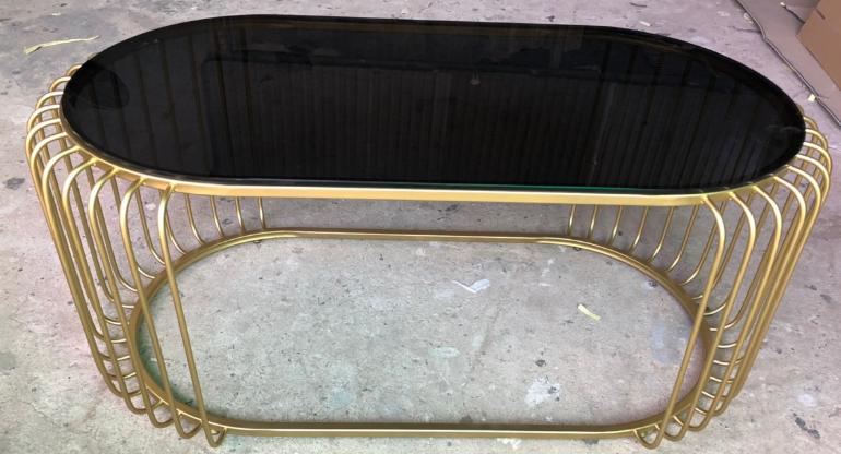 Bàn sofa hạt Xoài HP-TD01