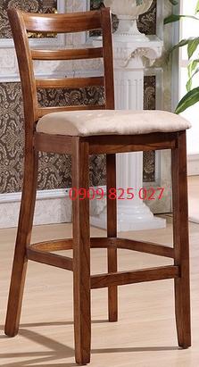 Ghế quầy bar gỗ HP-15E