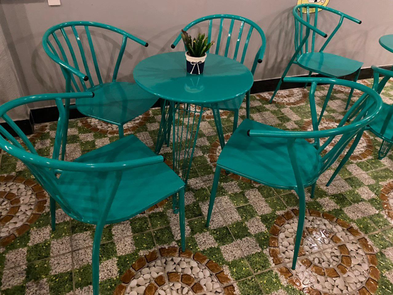 Bộ ghế sắt cafe HP-4060
